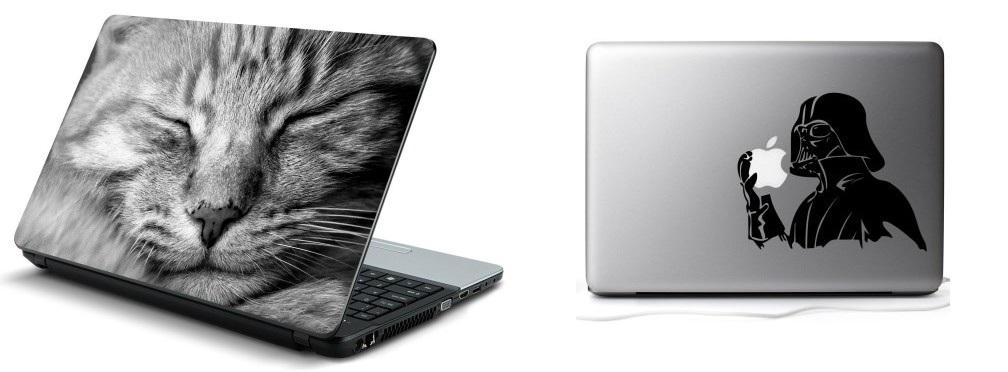 naklejka na laptop
